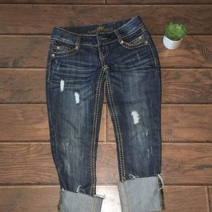 Almost Famous Distressed Jeans!